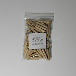 1/4 x 1-1/2 x 100 Dowel Pin Package