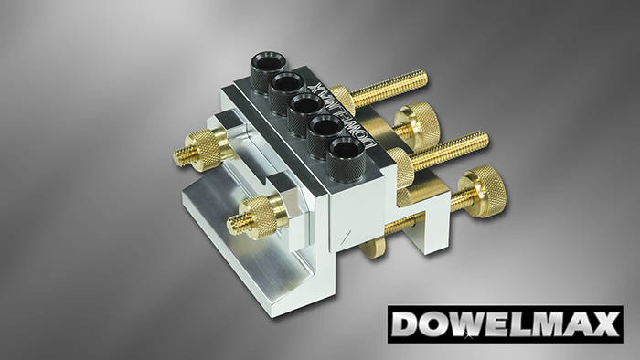 Dowelmax Classic dowel jig in normal configuration.