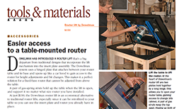 Woodworking Magazine Reviews