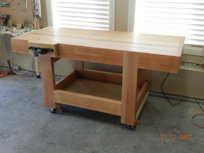 plans to build a woodworking bench | Beginner Woodworking ...