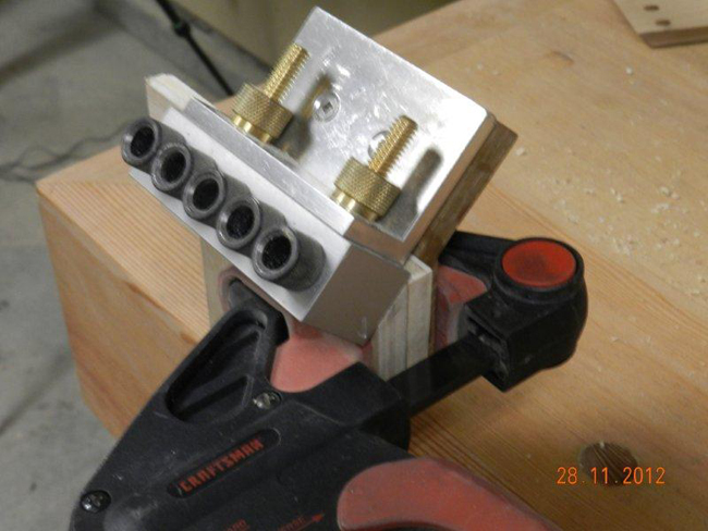 Dowelmax_45_degree_drawer_joint_drilling