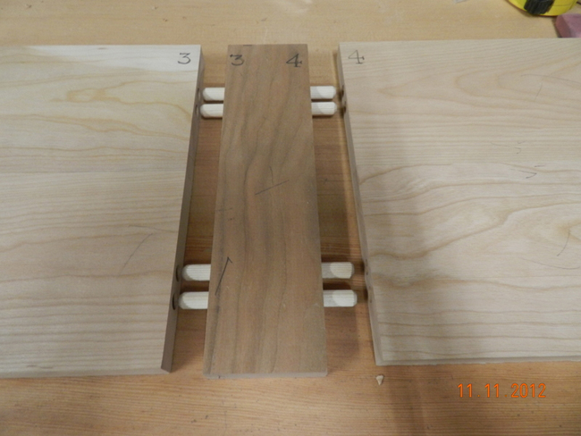 How to build a diy wood hall table dowelmax for Table joints