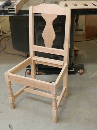 how to build a wood chair