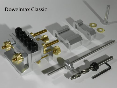 Dowelmax Classic 2019 Joining System Contents