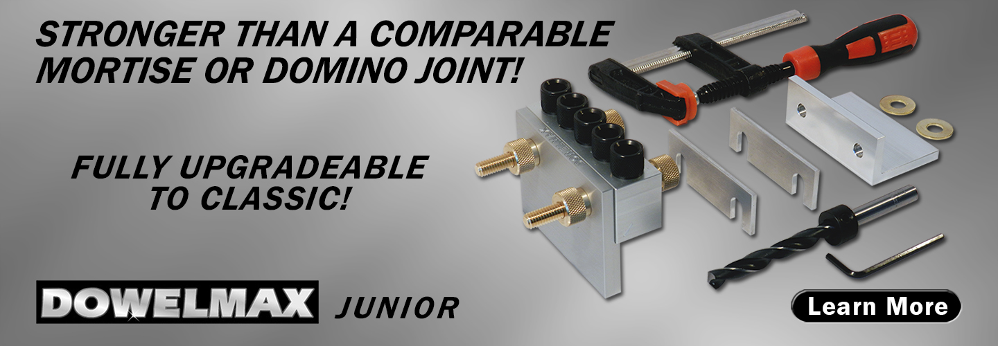 Junior dowel jig system product features