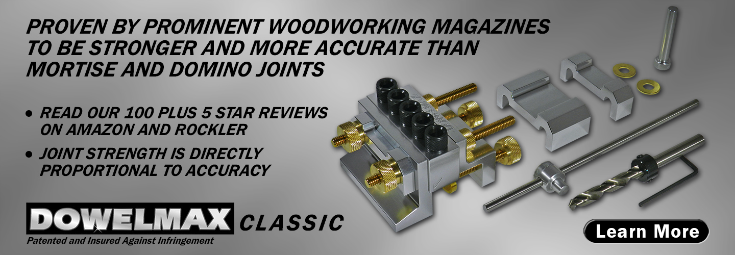 picture of dowelmax classic dowel jig system contents