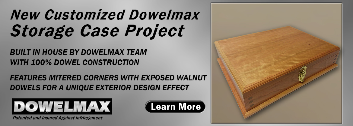 Customized Storage Case Project for Dowelmax Classic Dowel Jig System