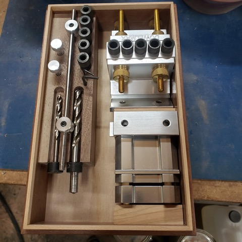 Dowelmax storage case designed and built by Dick B.