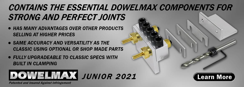 Dowelmax Junior 2021 System Contents